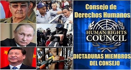 CDH de ONU dominado por dictaduras