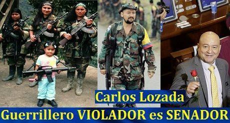 La libertad ganó, gracias a Dios, una batalla en Colombia, contra guerrillero violador en senado