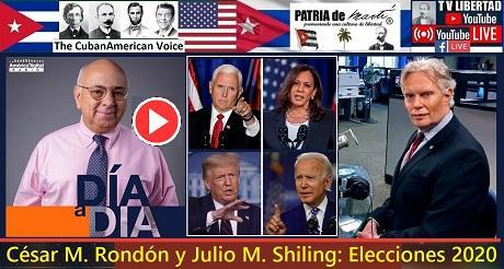 Cesar M Rondon y Julio M Shiling Elecciones 2020