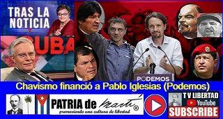 Chavismo financió a Pablo Iglesias (Podemos)