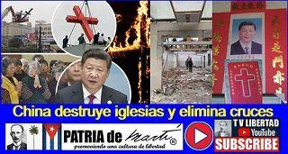 China destruye iglesias y elimina cruces