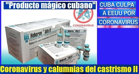 El Coronavirus y las calumnias del castrismo II