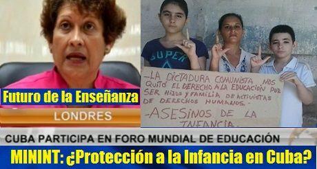 Cuba: ¿Futuro de la Enseñanza y Protección a la Infancia por el MININT?