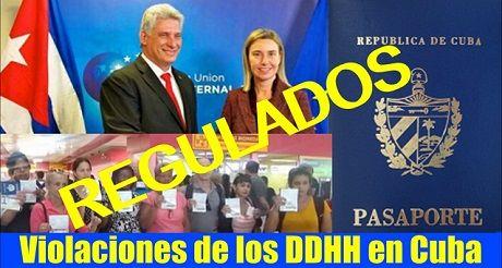 REGULADOS: Otra violación de los DDHH en Cuba