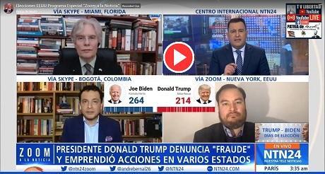 Debate: Fraude electoral en elecciones de EEUU