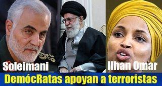 DemócRatas prefieren apoyar a terroristas iraníes que a nuestro presidente