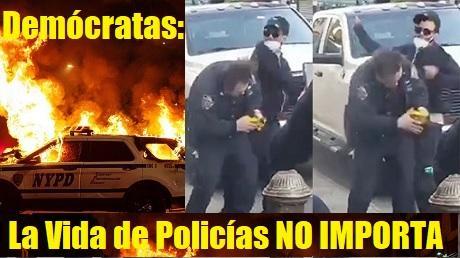 Democratas La Vida de Policias NO IMPORTA