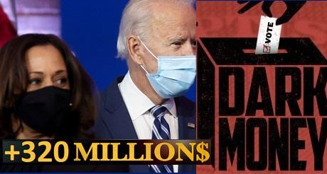 Democratas recibieron mas de 320 millones de dinero oscuro