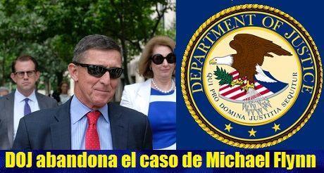Departamento de Justicia abandona el caso de Michael Flynn