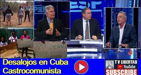 Desalojos en Cuba castrocomunista