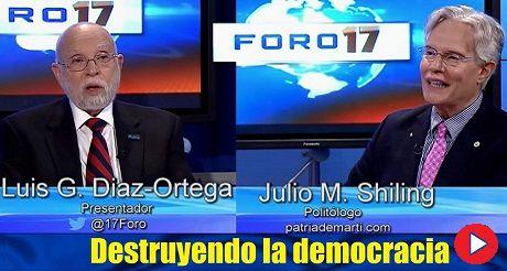 Destruyendo la democracia