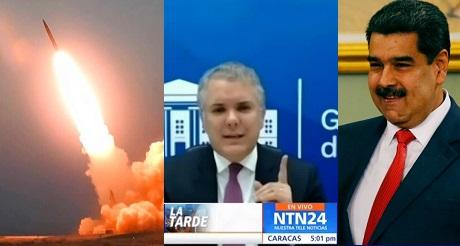 Duque denunció convenio venezolano iraní sobre misiles