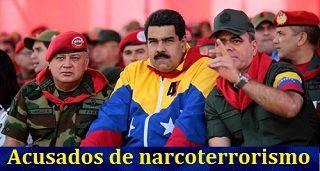 EEUU acusó de narcoterrorismo a Nicolás Maduro y 14 funcionarios