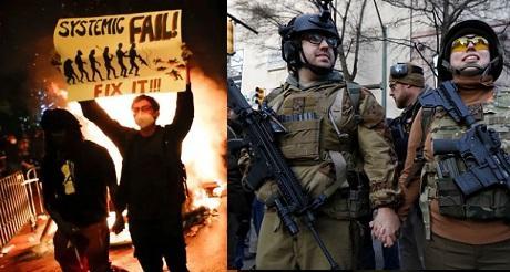 EEUU y el riesgo de una guerra civil