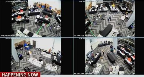 El truco caño de agua roto para sacar los observadores y tráfico de boletas fraudulentas