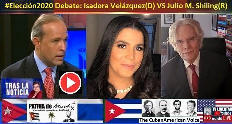 Eleccion2020 Debate Julio M. Shiling R VS Isidora Velazquez D