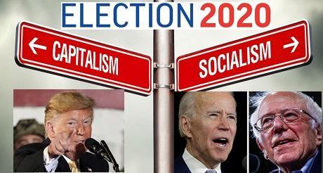 Elecciones 2020 Eleccion entre Capitalismo y Socialismo