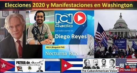 Elecciones 2020 EEUU y Manifestaciones en Washington