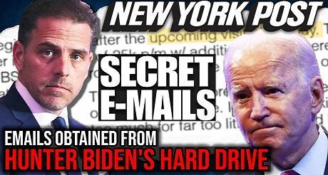 Emails del hijo se Biden amplian el escandalo