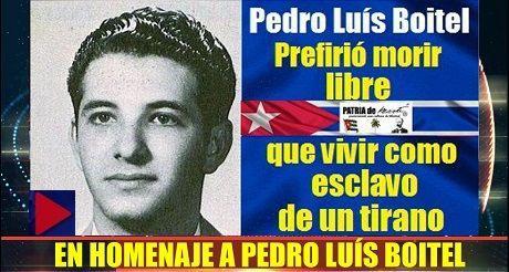 En homenaje a Pedro Luís Boitel