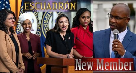 Escuadron socialista del Partido Democrata se amplia