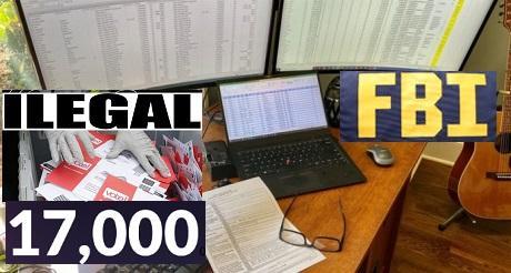 Ex agente FBI 17 mil votos ilegales en Georgia