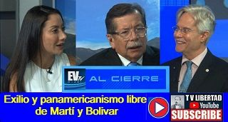 Exilio y panamericanismo libre de Martí y Bolivar