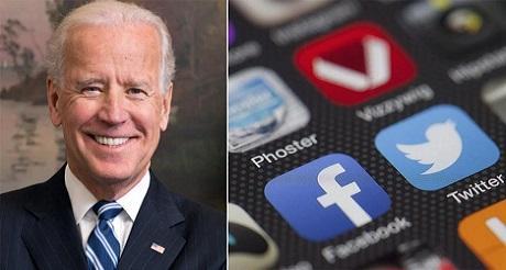 Facebook y Twitter censuran noticia critica de Biden
