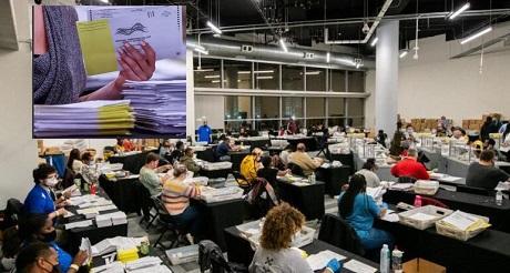 Georgia anuncia recuento manual de votos