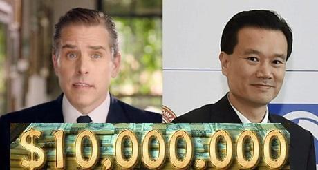 H Biden pidio 10 millones a socio chino