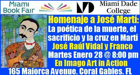 Invitación: Homenaje a José Martí