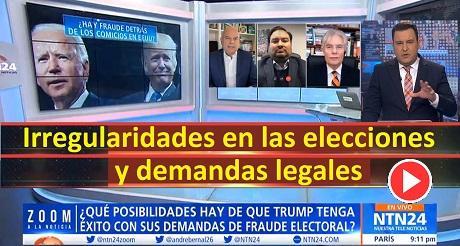 Irregularidades en las elecciones y demandas legales