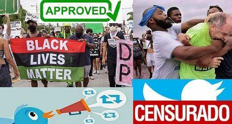 Izquierda radical promoviendo censura y socialismo