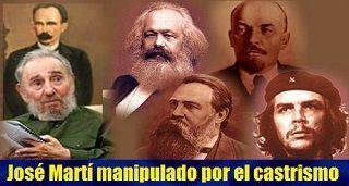 José Martí manipulado por el castrismo