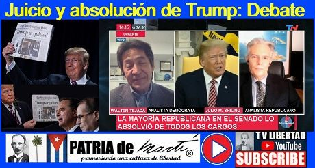 Juicio y absolución de Trump: Debate intenso