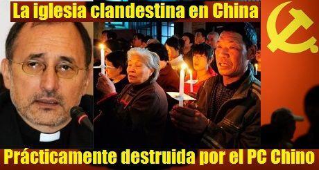 La iglesia clandestina en China está siendo prácticamente destruida