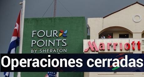 Marriot cierra sus operaciones en Cuba