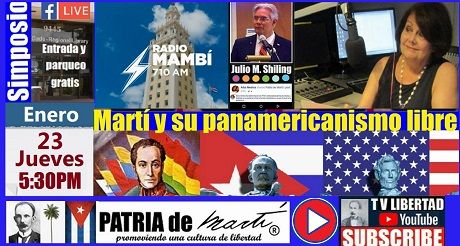 Martí y su panamericanismo libre con Ninoska en Mambí