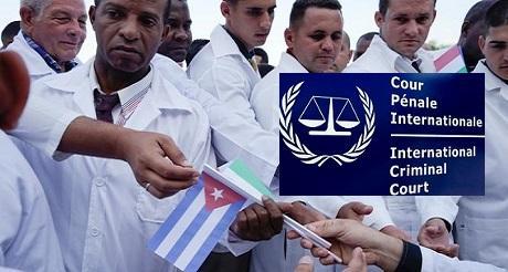 Neoesclavismo de medicos cubanos denunciado en Corte Penal Internacional