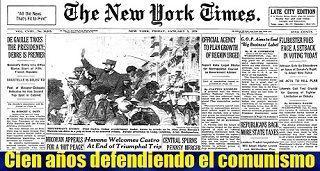 The New York Times, cien años defendiendo el comunismo
