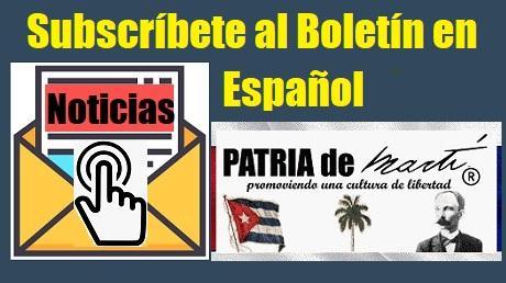 Subscripción al Boletín de Noticias en Español