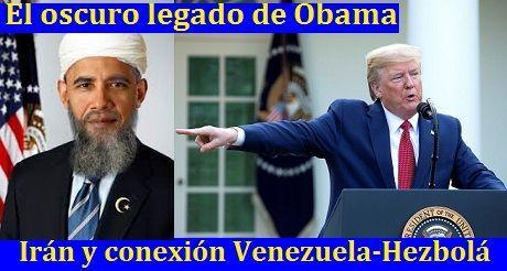 Oscuro legado de Obama: Irán y conexión Venezuela-Hezbolá