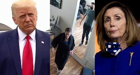 Pelosi tipifica hipocresía de la izquierda: máscaras para los otros