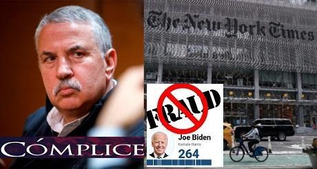 Periodista del NYT aboga por el fraude electoral