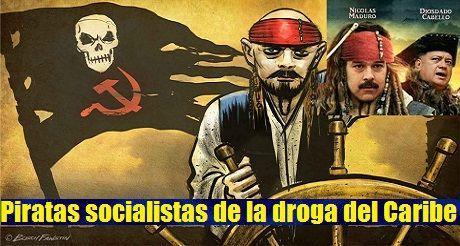 Trump persigue a los piratas socialistas de la droga del Caribe