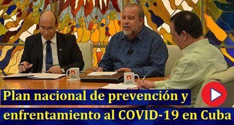 Plan de prevencion y enfrentamiento al COVID 19 Cuba