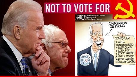 Por que los americanos no debemos votar por Biden