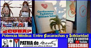 Potencia Médica Entre Cucarachas y Solidaridad en Cuba