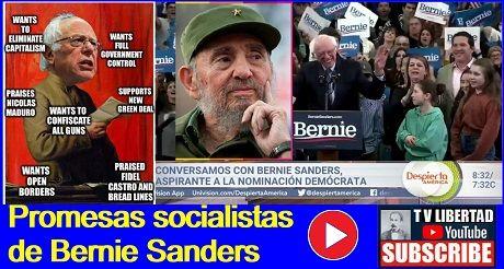 Promesas socialistas de Sanders