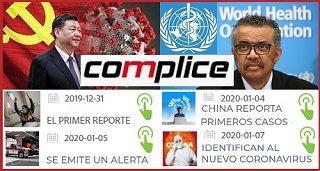Responsabilidad de China y complicidad de la OMS COVID-19